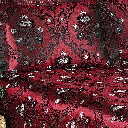 Покрывало Nazsu Damask, бордовый, 240*260 см (mt-100743), фото 2
