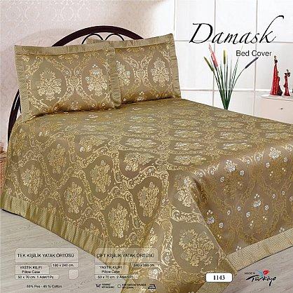 Покрывало Nazsu Damask, коричневый, 240*260 см (mt-100746), фото 1