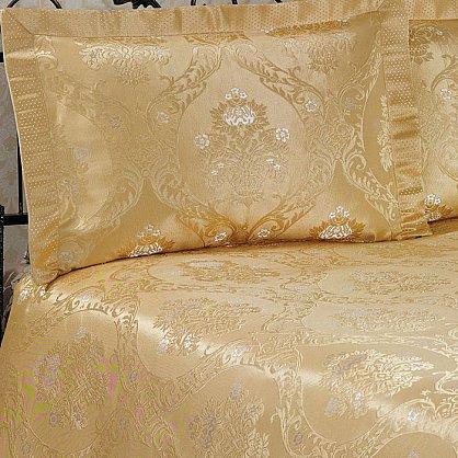 Покрывало Nazsu Damask, золотой, 240*260 см (mt-100745), фото 2
