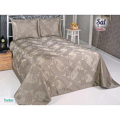 Покрывало DO&CO Sal, коричневый, 240*260 см (mt-100703), фото 1