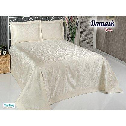 Покрывало DO&CO Damask, кремовый, 240*260 см (mt-100694), фото 1