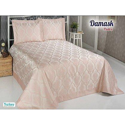 Покрывало DO&CO Damask, пудра, 240*260 см (mt-100695), фото 1