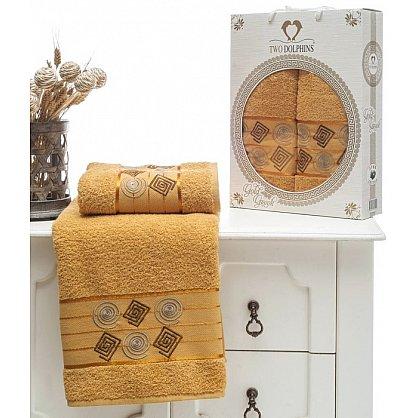 Комплект из 2-х полотенец Cotton Class в коробке (50*90; 70*140), горчичный (mt-100648), фото 1