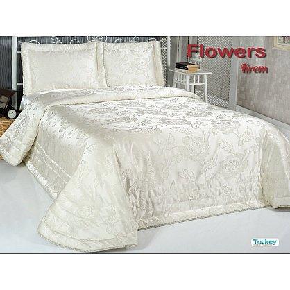 Покрывало DO&CO Flowers, кремовый, 240*260 см (mt-100788), фото 1