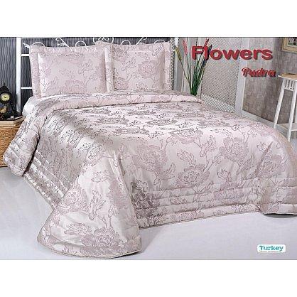 Покрывало DO&CO Flowers, пудра, 240*260 см (mt-100789), фото 1