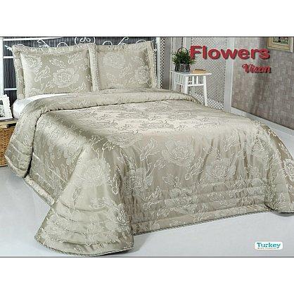 Покрывало DO&CO Flowers, зеленый, 240*260 см (mt-100787), фото 1