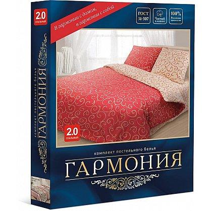 """КПБ Гармония """"Пэчворк"""", коричневый, синий (nt-200040-gr), фото 2"""