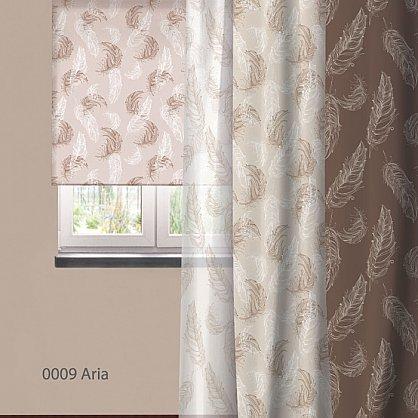 "Рулонная штора ролло ""Aria"", дизайн 0009 (nt-200385-gr), фото 3"