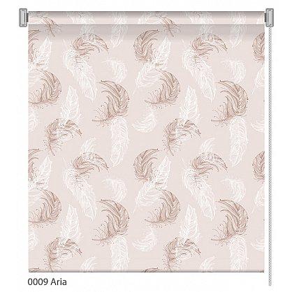 "Рулонная штора ролло ""Aria"", дизайн 0009 (nt-200385-gr), фото 1"