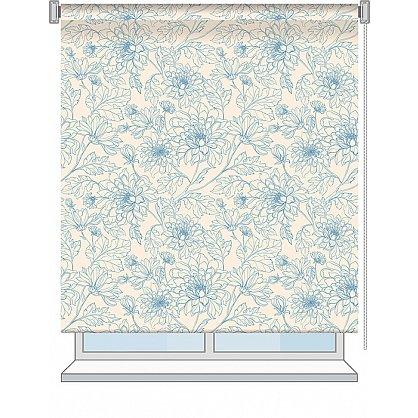 """Рулонная штора ролло """"Emma"""", дизайн 0083, 100 см (nt-101992), фото 2"""