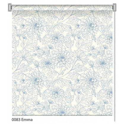 """Рулонная штора ролло """"Emma"""", дизайн 0083, 100 см (nt-101992), фото 1"""