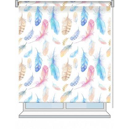 "Рулонная штора ролло ""Fluff"", дизайн 0101, 120 см (nt-101998), фото 2"