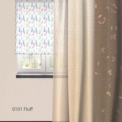 Шторы Этно Блэкаут Fluff, 150*270 см (nt-101962), фото 2