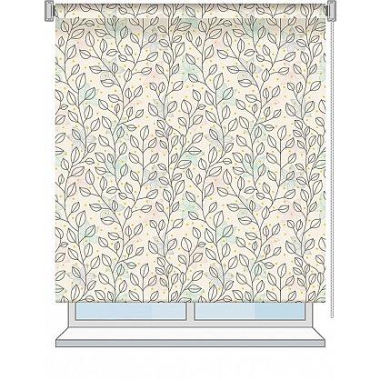 """Рулонная штора ролло """"Bonny"""", дизайн 0103, 120 см (nt-102008), фото 2"""