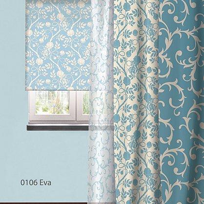 """Рулонная штора ролло """"Eva"""", дизайн 0106, 100 см (nt-102022), фото 3"""