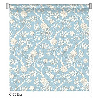 """Рулонная штора ролло """"Eva"""", дизайн 0106, 100 см (nt-102022), фото 1"""