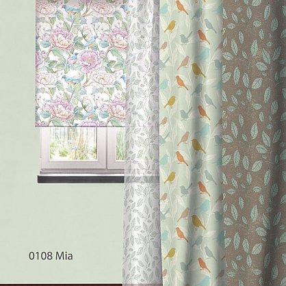 "Рулонная штора ролло ""Mia"", дизайн 0108, 140 см (nt-102034), фото 3"