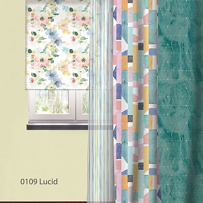"Рулонная штора ролло ""Lucid"", дизайн 0109, 80 см (nt-102036), фото 3"