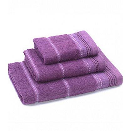 Полотенце махровое 60*130 'Любимый дом' new модель Клео фиолетовый (265174), фото 1