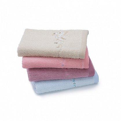 Полотенце махровое 50*90 'Любимый дом' new модель Мелисса дымчато-розовый (265160), фото 2