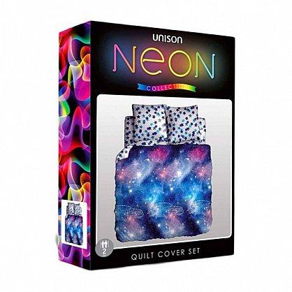 КПБ 1,5 биоматин 'Unison' Neon Collection (50*70) КБУнк-11/1 рис.11686/11687 вид 1 Galaxy (267928), фото 2