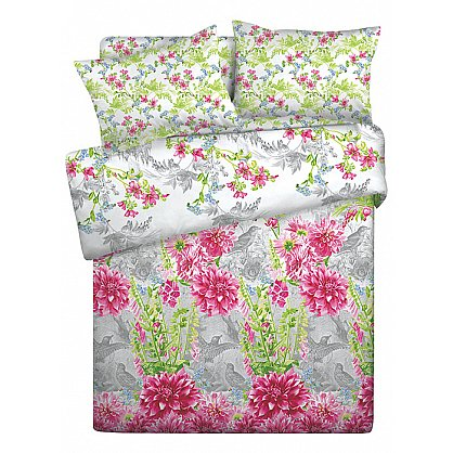 КПБ 2,0 Lux Cotton 'Romantic' КБR-21 рис. 11809/11810 вид 1 Парадиз (285636), фото 1