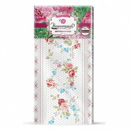 Набор 'Романтика' Розовый ноктюрн (Скатерть рогожка 145*180 + полотенце ваф.40*50 (3шт) (378995), фото 2