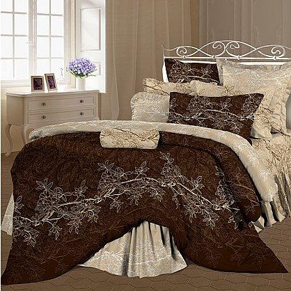 КПБ 1,5 Lux Cotton 'Romantic' КБR-11/1 рис. 11365 вид 1+2 Сиена (264463), фото 1