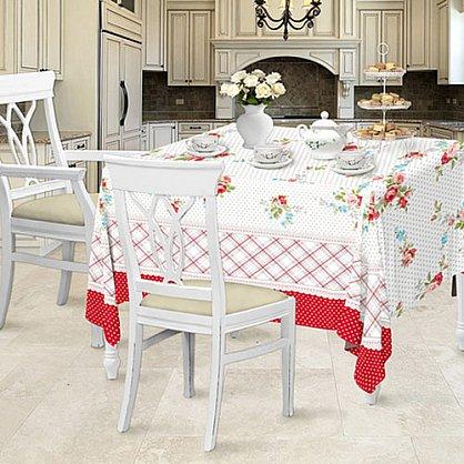Набор 'Романтика' Розовый ноктюрн (Скатерть рогожка 145*180 + полотенце ваф.40*50 (3шт) (378995), фото 1