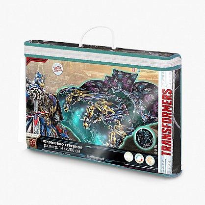 Покрывало стеганое 'Непоседа' 145*200 'Transformers' Оптимус (426311), фото 2