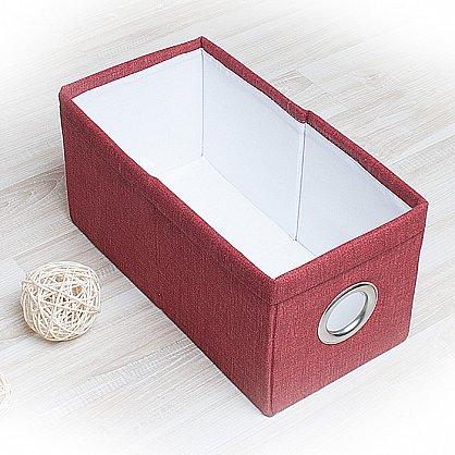 """Декоративная корзинка """"Фальсо-1"""", малая, бордовый (DK.F311-1), фото 1"""