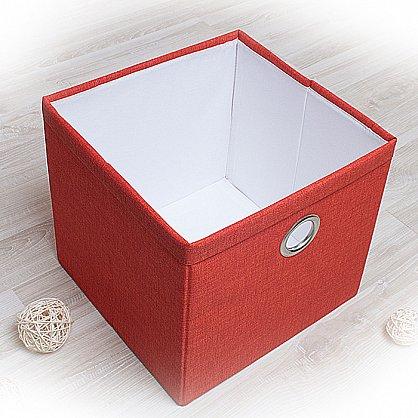 """Декоративная корзинка """"Фальсо-2"""", большая, оранжевый (DK.F333-2), фото 1"""