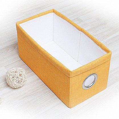 """Декоративная корзинка """"Фальсо-4"""", малая, желтый (DK.F311-4), фото 1"""