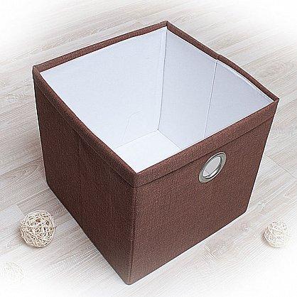 """Декоративная корзинка """"Фальсо-6"""", большая, коричневый (DK.F333-6), фото 1"""