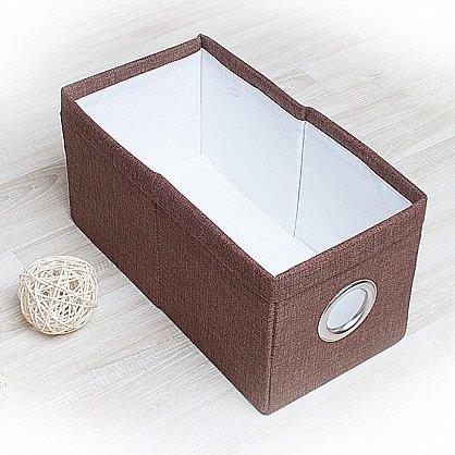 """Декоративная корзинка """"Фальсо-6"""", малая, коричневый (DK.F311-6), фото 1"""