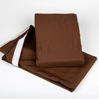 "Комплект штор на ленте ""Анита""-4, темно-коричневый (H.AT-4), фото 2"