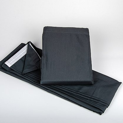 "Комплект штор на ленте ""Анита""-8, серый (H.AT-8), фото 2"