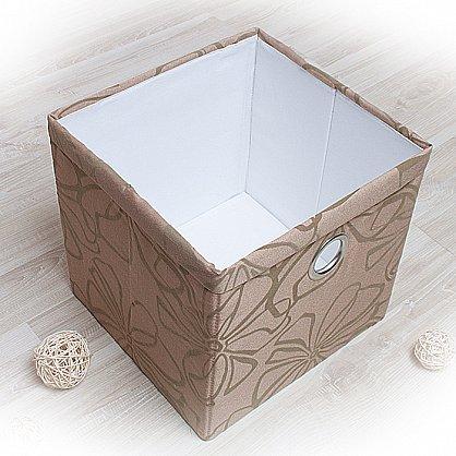 """Декоративная корзинка """"Доротея-3"""", большая, коричневый (DK.D333-3), фото 1"""