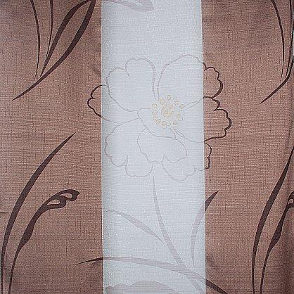 """Тюль """"Кларенс"""" 400-2, темно-коричневый, 400*270 см (TK.400-2-270), фото 2"""
