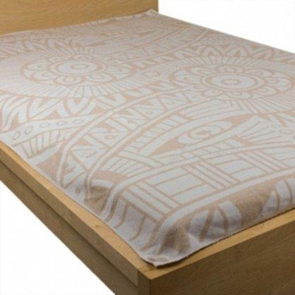 """Одеяло хлопковое """"Перу"""", белый, бежевый, 140*205 см (od-pr-kor-140), фото 2"""