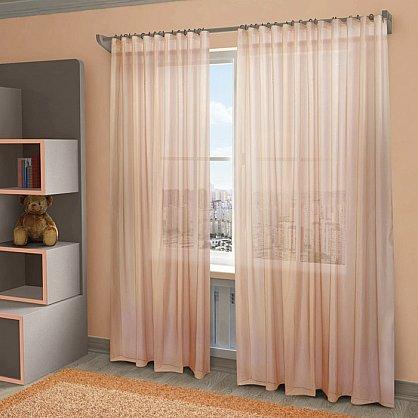 """Тюль """"Пегги"""", розовый, 300*280 см (sp-HP10058-30-1E), фото 1"""