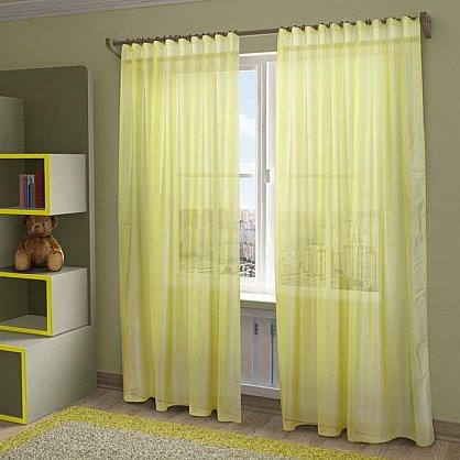 "Тюль ""Пегги"", желтый, 300*280 см (sp-HP10058-25-1E), фото 1"