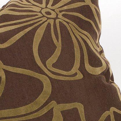 """Подушка декоративная """"Грация""""-4, темно-коричневый (NN-40), фото 2"""