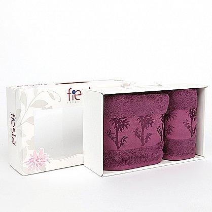 "Набор полотенец ""Bamboo"", фиолет, 2 шт. (F-bamboo-fiolet), фото 1"