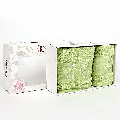 """Набор полотенец """"Bamboo"""", зеленый, 2 шт. (F-bamboo-zelenyj), фото 1"""