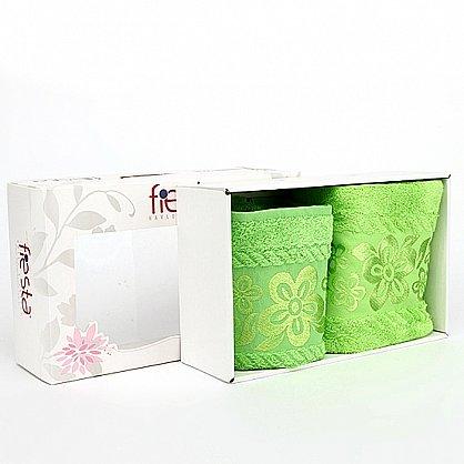 """Набор полотенец """"Belissimo"""", зеленый, 2 шт. (7011-z), фото 1"""