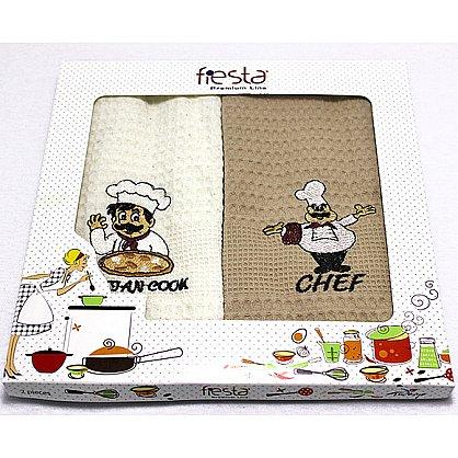 """Набор полотенец для кухни """"Шеф"""", 2 шт. (f-shef-2), фото 1"""