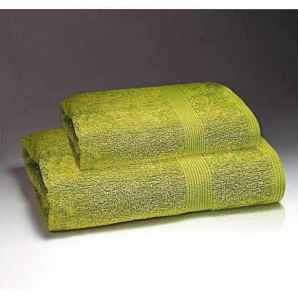 """Полотенце махровое """"Палитра"""", лайм 30*60 см (pl-p-l-30), фото 1"""