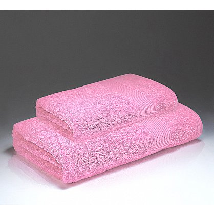 "Полотенце махровое ""Палитра"", розовый 50*90 см (pl-p-r-50), фото 1"
