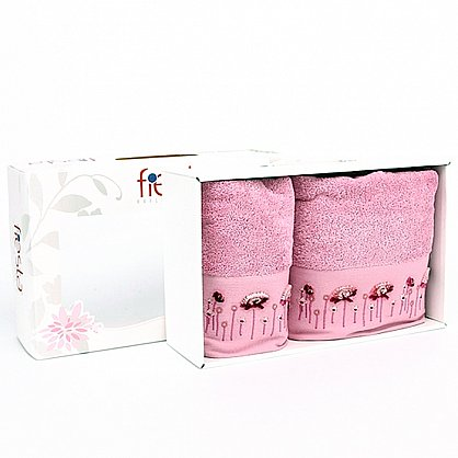 "Набор полотенец ""Summer"", розовый, 2 шт. (F-summer-rozovi), фото 1"